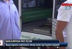 Balya toplama makinesinin altında ezilen işçi hayatını kaybetti
