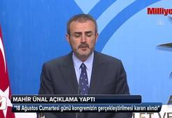 AK Parti kongresinin tarihi belli oldu