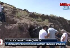 Baldızını öldürüp mağaraya gömdü