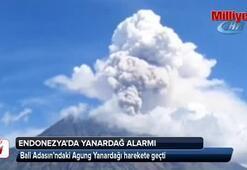 Endonezya'da Agung Yanardağı harekete geçti