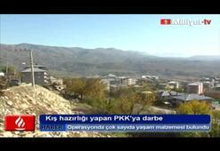Kış hazırlığı yapan PKK'ya darbe