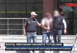 Bitliste şehitlere sosyal medyadan hakarete tutuklama