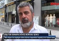 Şişli Osmanbeyde esnafa döviz bürosu şoku
