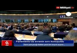 Tanrı parçacığı Avrupa Parlementosunda