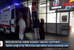Erzurum'da Kırım Kongo virüsü şüphesi