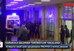 Halfeti'de karakola saldıran teröristler yakalandı