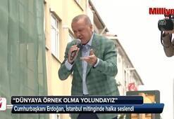 Cumhurbaşkanı Erdoğan: :Sağlıkta attığımız adımlarla dünyaya örnek olma yolundayız