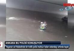 Ankara bu trafik polisini konuşuyor