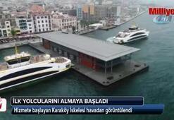 Karaköy İskelesi hizmete açıldı
