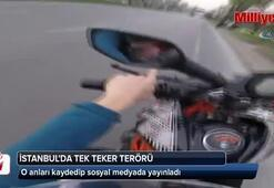 İstanbul'da tek teker terörü kamerada