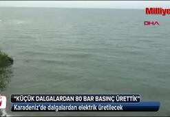 Karadenizde dalgalardan elektrik üretilecek
