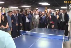 Erdoğandan Gençlik Merkezine ziyaret