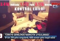 Emniyetten Türkiye genelinde narkotik uygulaması