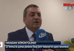 Cumhurbaşkanı Erdoğanın Hayalim dediği bir hastane daha bitti