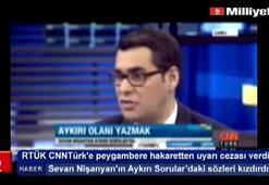 RTÜKten CNNTürke peygambere hakaretten uyarı cezası