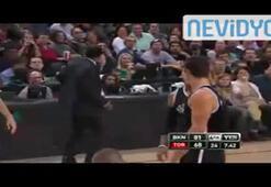 NBA hakemi basketçilere özenirse