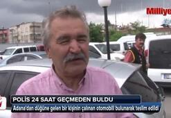 Adanadan düğüne gelen adamın otomobili çalındı