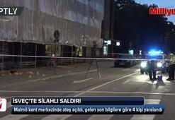 İsveçte silah sesleri: Yaralılar var