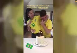 Adriana Limadan Metin Haraya doğum günü kutlaması