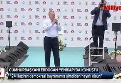 Cumhurbaşkanı Erdoğan Yenikapıda konuştu