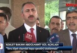 Adalet Bakanı Abdülhamit Gül, açıklama yaptı