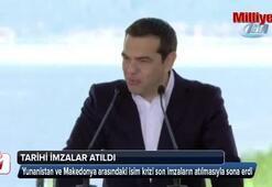Yunanistan ve Makedonya arasındaki isim anlaşmazlığı sona erdi