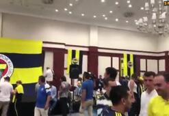 Fenerbahçe bayramlaşma töreninde G.Saray marşı