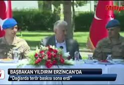 Başbakan Yıldırım Erzincanda