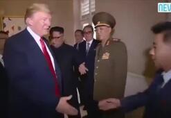 Trumpın askeri selamı ortalığı karıştırdı