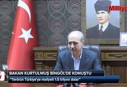 Bakan Kurtulmuş: Terörün Türkiyeye maliyeti 1.5 trilyon dolar