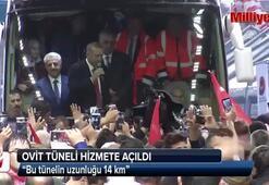 Cumhurbaşkanı Erdoğan: Bu tünelin uzunluğu 14 km