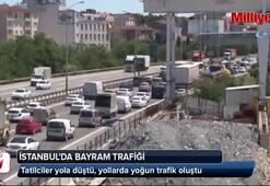 İstanbulda bayram trafiği başladı
