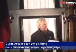 Julian Assangedan şok açıklama