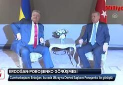 Cumhurbaşkanı Erdoğan, Poroşenko ile görüştü