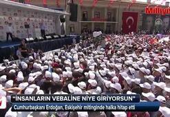 Cumhurbalkanı Erdoğan: Sen de hırsızsın genel başkanın da hırsız