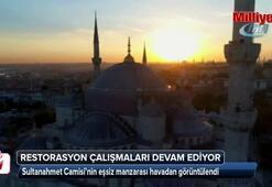 Sultanahmet Camisi havadan görüntülendi