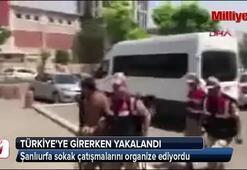 O terörist, Türkiyeye girerken yakalandı