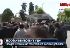 Erdoğan Demirörenin cenazesi Fatih Camiinde