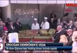 Erdoğan Demirörene veda