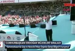 Cumhurbaşkanı Erdoğan, müjdeleri sıraladı