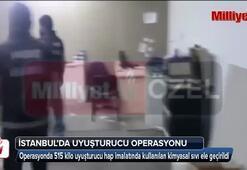 İstanbulda dev narkotik operasyonu