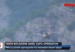 Terör bölgesine geniş çaplı operasyon