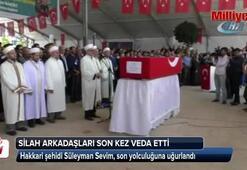 Hakkari şehidine Kırşehirde son görev