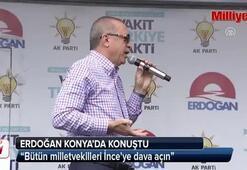 Cumhurbaşkanı Erdoğan Konyada konuştu