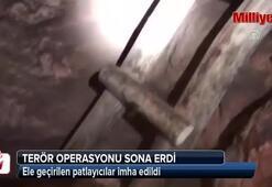 Diyarbakırda terör operasyonu sona erdi