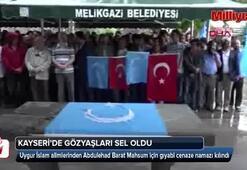 Yer: Kayseri Uygur İslam alimi için ağladılar