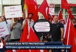 Almanyada FETÖ protestosu