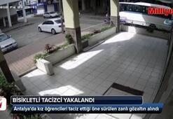 2 liseli kız öğrenciyi taciz eden zanlı yakalandı
