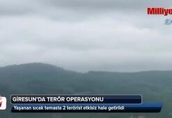 Giresunda öldürülen teröristlerin kimlikleri belirlendi