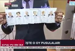 İşte 24 Haziranda kullanılacak oy pusulaları